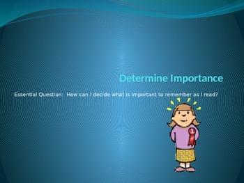 Determine Importance PowerPoint