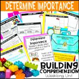 Determine Importance Printables & Activities (Print & Digital)