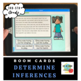 Determine Inferences-Boom Cards- Distance Learning