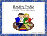 Determine Reader Interest Profile, Worksheet:  Library Skills
