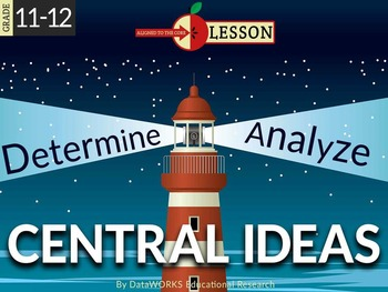 Determine Two or More Central Ideas in Text and Analyze Their Development