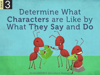 Determine What Characters are Like by What They Say and Do