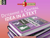 Determine a Central Idea of a Text