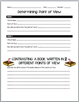 Determine and Contrast Point of View RL4.2