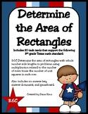 Determine the Area of Rectangles (TEKS 3.6C) STAAR Practice