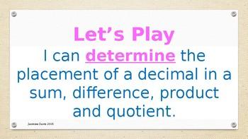 Determine the Decimal 2