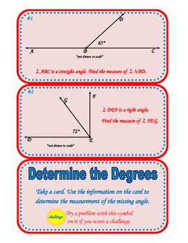 Determine the Degrees Center