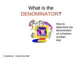 Determine the Denominator (on a Number Line) PowerPoint Tutorial