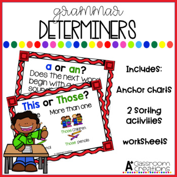 Determine the Determiners