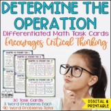 Determine the Operation Task Cards