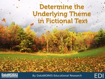 Determine the Underlying Theme in Fictional Text