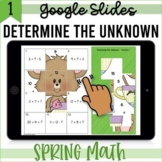 Determine the Unknown GOOGLE Slides Math Mystery Puzzles