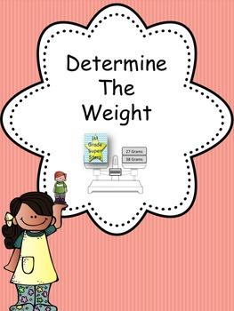 Determine the Weight