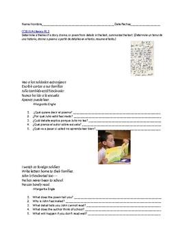 Determine theme - Identificar el tema