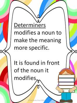 Determiners: Articles and Demonstrative