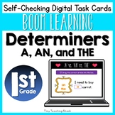 Determiners- Articles A, AN, and THE Boom Cards