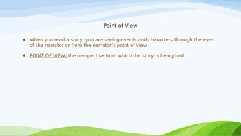 Determining Point of View While Reading