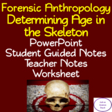 Determining Age in the Skeleton: PowerPoint, Student Notes, Worksheet