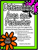 Determining Area and Perimeter: 3rd Grade TEKS 3.6C and 3.7B STAAR Practice