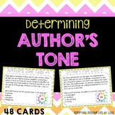 Determining Author's Tone Task Cards