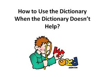 Determining Definitions