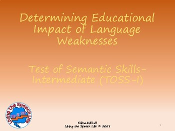Determining Educational Impact of the Test of Semantic Ski