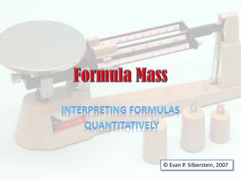 Determining Formula Mass