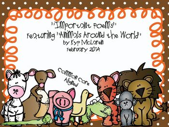 Determining Importance Featuring Animals Around the World - Common Core Aligned