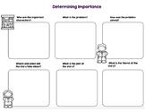Determining Importance Graphic Organizer