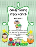 Determining Importance Mini Pack