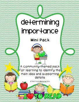 Determining Importance Mini Pack