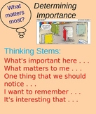 Determining Importance Minilesson - PowerPoint