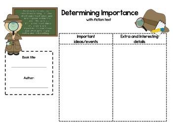 Determining Importance (fiction)