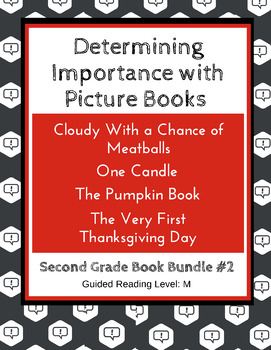 Determining Importance with Picture Books (Second Grade Super Pack) CCSS