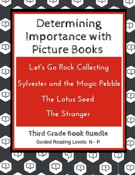 Determining Importance with Picture Books (Third Grade Sup