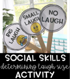Determining Laugh Size Social Skills Activity
