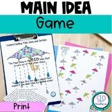 Determining Main Idea-Listening Comprehension-Reading Comprehension Strategies