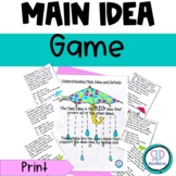 Main Idea Game Listening Reading Comprehension Short Stories Speech Therapy