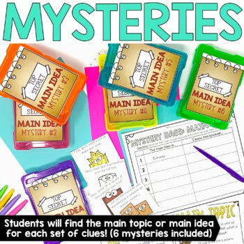 Main Idea and Details for Informational Text