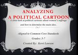 Determining Main Idea of a Political Cartoon
