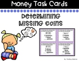 Determining Missing Coins Task Cards