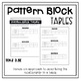 Determining Patterns in Tables Using Pattern Block