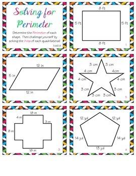 Determining Perimeters (2.MD.B5)