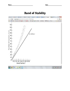 Determining Stable Isotopes Practice