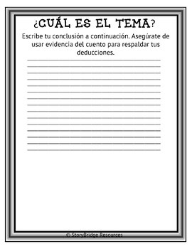Determining Theme-An Anti-Bullying Short Story for Spanish Reading Comprehension