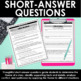Theme Reading Comprehension Passages and Questions - Differentiated Passages