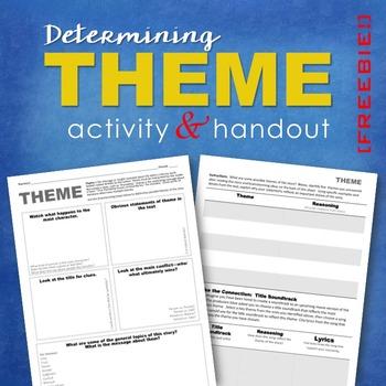 Determining Theme: FREE Activity & Handout
