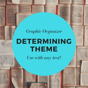 Determining Theme Graphic Organizer