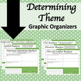 Determining Theme Graphic Organizers