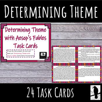 Determining Theme Task Cards